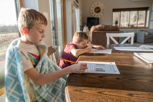 Keeping students on task while distance learning